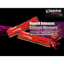 Memoria Kingston Hyperx Savage, 8gb, Ddr3, 1866 Mhz, Cl9.