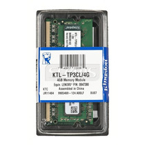 Memoria Kingston Ktl-tp3cl/4g, 4 Gb, Ddr3, 1600 Mhz, Sodimm.