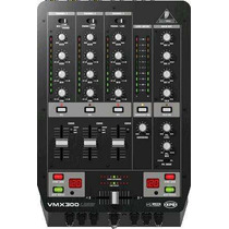Mezcladora Behringer Vmx 300 Usb Profecional Usb Dj Mixer