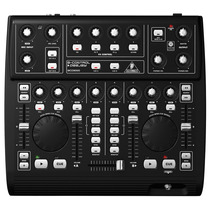 Controlador Dj Bcd3000 Behringer Mixer Mac Usb Ideal Virtual