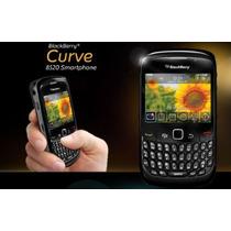 Protector Funda Silicona Blackberry + Mica Pantalla 8520