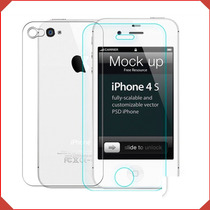Mica Protector Pantalla Vidrio Templado Doble Phone 4 4s