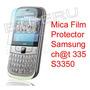 Mica Film Samsung Chat 335 S3350 Protector Pantalla Estatica