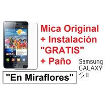 Mica Film Protector Pantalla Lamina Samsung I9100 Galaxy S2