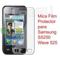 Mica Protector Pantalla Lamina Samsung S5250 Wave 525 S5750