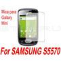 Mica Protector Pantalla Lamina Samsung Mini S5570 Galaxy