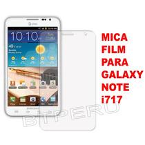 Mica Film Para Samsung Galaxy Note I717 Protector Pantalla