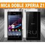 Mica Protector Pantalla Lamina Sony Xperia Z1 L39h Doble