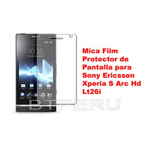 Mica Film Pantalla Sony Ericsson Xperia S Arc Hd Lt26i