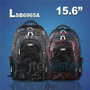Mochila Skill Backpack 15.6 Black/red Itelsistem