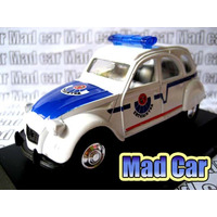 Mc Mad Car Citroen 2cv Coleccion Auto 1:43