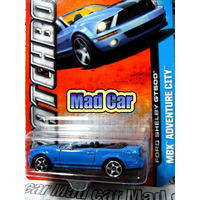 Mc Mad Car Ford Shelby Gt500 Matchbox Auto Coleccion 1:64
