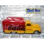 Mc Mad Car Coca Cola Camion Botellas Coleccion Navidad