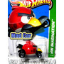 Mc Mad Car Angry Birds 2012 Red Bird Hot Wheels Auto 1:64