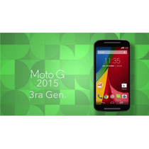 Motorola Moto G 3ra Generacion Xt1542 Libre,13mpx,hd,4glte