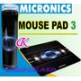 Pad Mouse Micronics En Color Negro Para Mouse Optico Y Laser