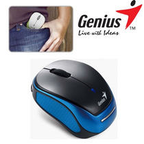 Mouse Genius Micro Traveler 9000r Wireless Blue Con Bateria