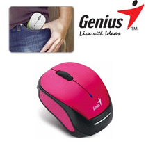 Mouse Genius Micro Traveler 9000r Wireless Pink