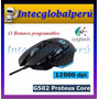 Mouse Gamer Logitech G502 Proteus Core 11 Botones 12000 Dpi