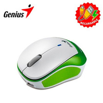 Mouse Genius Micro Traveler 9000r Wireless White Con Batería