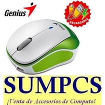 Mouse Genius C/bateria Recargable Micro Traveler 9000r White