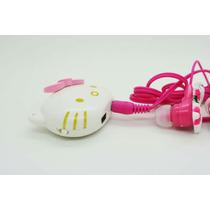 Reproductor Mp3 Hello Kitty + Cargador Mini Usb + Audifonos