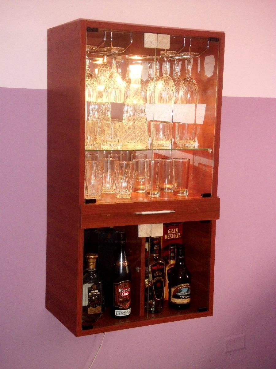 Mueble Bar De Melamina  S 289,00 en MercadoLibre