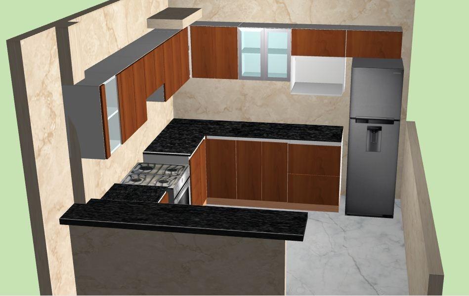muebles de cocina melamine con diseos en d y granito lima en with disear cocina d