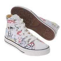 Converse All Star Chuck Taylor Hi Graffiti Original Nuevo