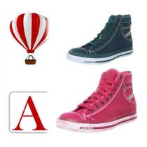 Zapatillas Mujer Sneackers Botines Diesel 100% Original Amaz