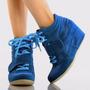 Zapatillas Taco Cuña Wedge Sneakers Usa 8 38 8.5 39 Pedido
