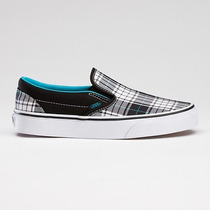 Vans Slip On Clasicas Blanco Negro Tallas