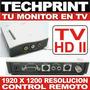 Sintonizador Tv Tuner Externo Modelo Hd Convierte Monitor Tv