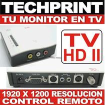 Convierte Tu Monitor En Tv Sin Pc - Sintonizador Externo Hd