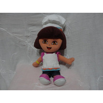 Dora La Exploradora Cheff Peluche Muñeca Fisher Price Mattel