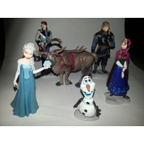 Set De Frozen: 6 Muñequitos.