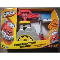 Chuck And Friends Playset Construccion Cantera/grua/hasbro