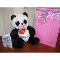 Peluche Oso Panda Musical Importado