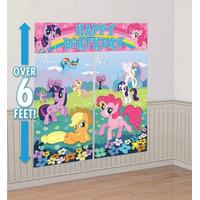 My Little Pony - Decoracion De Pared Para Fiesta Infantil