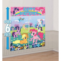 My Little Pony - Decoracion De Pared Para Fiesta Infantil