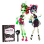 Monster High Zombie Shake Rochelle Goyle And Venus Mcflytrap