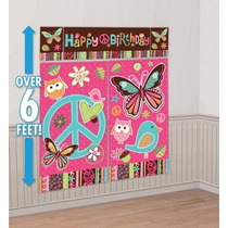 Happy Birthday - Decoración De Pared Para Fiesta Infantil