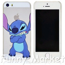Case/carcasa Transparente Stitch Iphone 5- Iphone 5s