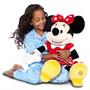 Minnie Mouse Roja Original De Disney + Bolsa Disney