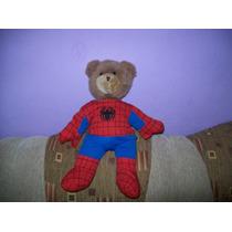 Bonito Osito De Peluche Teddy Con Ropa Del Hombre Araña