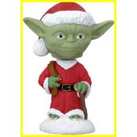 Yoda Navidad Star Wars Holiday Bobble-heads - Funko