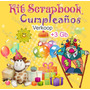 Kit Scrapbook Digital Cumpleaños Celebraciones Elementos Png