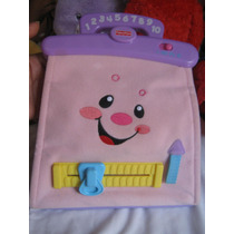 Bolsito Didactico Fisher Price Rosado Musical
