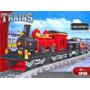 Tren Del Viejo Oeste Mod Lego, 410 Pcs, Ausini