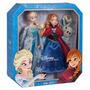Muñecas Frozen Elsa Y Ana-pack X 2 - Edicion Especial Disney